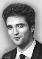 Robert Pattinson by artistiq-me