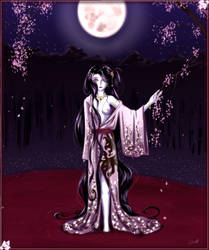 Tenica's request -Yokiko- by emerald-moon