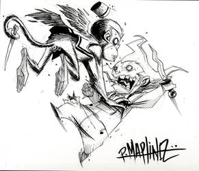 Flying Monkeys vs UmpaLumpa by RM73