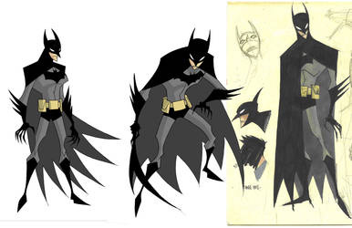 creepy batman by RM73