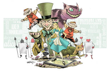 ALICE IN WONDERLAND by RM73