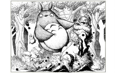 TOTORO by RM73