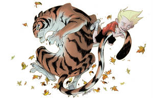 TIGER BY THE TAIL (4$) by RM73