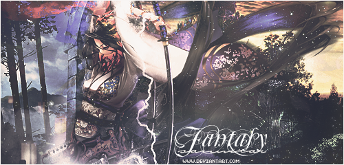Fantasy Samurai by ABlue-Heart