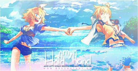 Hold My Hand || Signature by ABlue-Heart