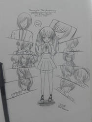 Manga cover || traditional art by ABlue-Heart
