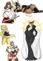 Final Fantasy Girls 3 by Axel-Rosered