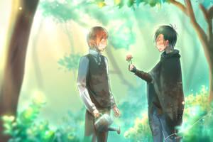 A flower by NlinRUSH