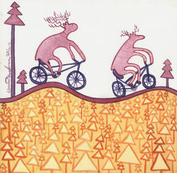 Biking by Tawastman