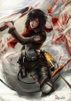 Mikasa by AimedZ