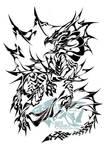 H20 Dragon Tribal by Liger-Inuzuka