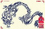 Bao Dragon Tribal (InPrint) by Liger-Inuzuka