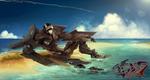 Commission: The Atolls by Liger-Inuzuka