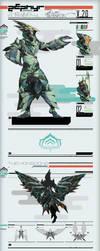 Arcane Zephyr the Wind Elemental V2 by Liger-Inuzuka