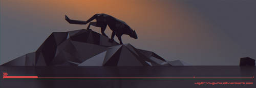 Low Poly Panther - The Prowl by Liger-Inuzuka