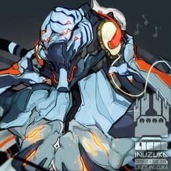 Warframe: DJ Nekros by Liger-Inuzuka