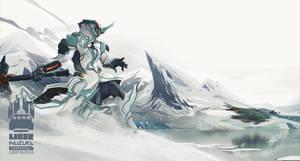 Warframe: Interloper in Frost's Territory by Liger-Inuzuka