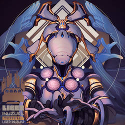Warframe: Asuri Nova Prime by Liger-Inuzuka