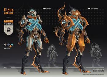 Warframe: Nidus Deluxe Skin by Liger-Inuzuka