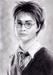 Harry Potter by izziwizVIII