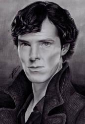 Sherlock by izziwizVIII