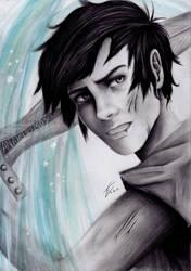 Percy Jackson, Son of Poseidon by izziwizVIII