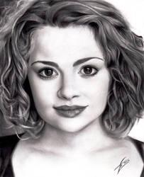 Carrie Hope Fletcher by izziwizVIII