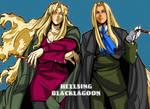 HELLSING and BLACKLAGOON by ShadowLuhi