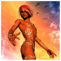 Copper Blaine by Vampyric-Saiyaness