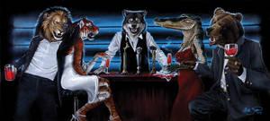 Predatory Nature by Damalia