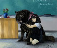 Elvira's Puppy by Damalia