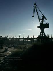 Gdansk shipyard II by tipoe