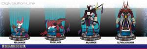 DWC2012: Nekonimon digivolution by dragonmanX