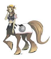 monster girls - 2 centaur by dragonmanX
