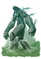 monster girls - 17 robot by dragonmanX