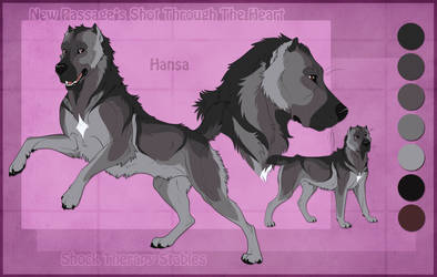STS Dog - Hansa by ShockTherapyStables