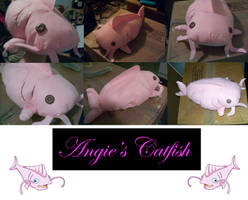 catfish plushie by BakaMichi