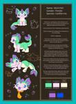 Michi-fish Ref Sheet by BakaMichi
