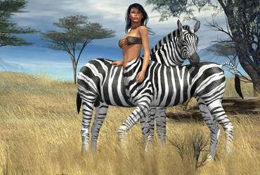 Zebra Centaur by hemi-426