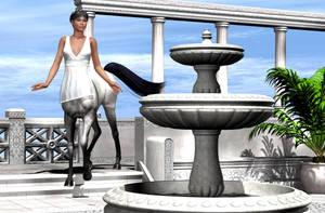 Greek style centauress by hemi-426