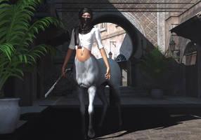 Touareg centauress by hemi-426