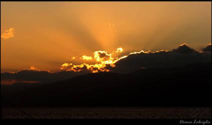 Sunset on Messina by DianaLobriglio