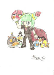 Hector and the Angry Birds by hectorfan375