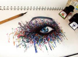 Graffiti Eye by atahirART