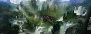 Waterfall Lookout by Fish032
