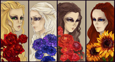 Game of Flowers by chiaroscuro8