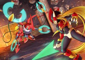 Megaman Zero Fanart by rollwulf