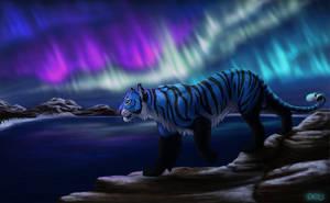 Aurora Borealis by DeyVarah