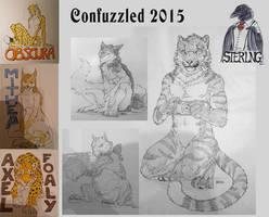 Confuzzled Sketches by DeyVarah