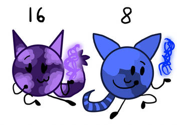 Animal Sphere Adoptables #6 by PillowBFB